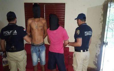 Aprehenden a sospechosos del crimen en Capitan Bado