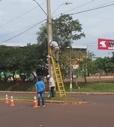 Instalan cámaras de seguridad en puntos estratégicos de Franco