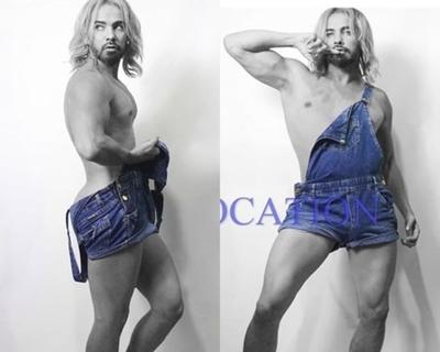 El extravagante nuevo look de Enrique Rivas
