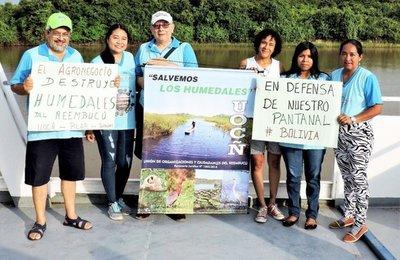 Denuncian graves alteraciones del ambiente en Ñeembucú