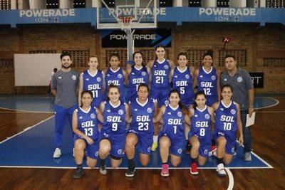 El básquet femenino nacional se tiñó de azul