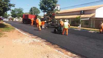 Itaipú inicia obras de pavimentación asfáltica en J. Eulogio Estigarribia