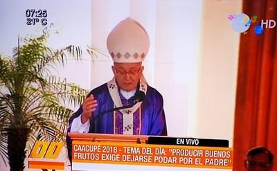 Monseñor insta al diálogo para solucionar la crispación política existente