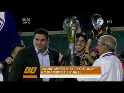 Guaraní es el primer campeón, siempre.