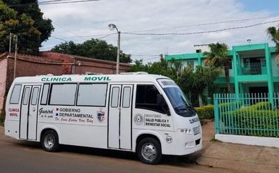 Entregan primer Móvil Salud para Guairá