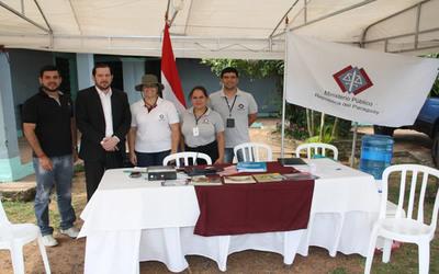 Ministerio Público despliega apoyo logístico para Operativo Caacupé