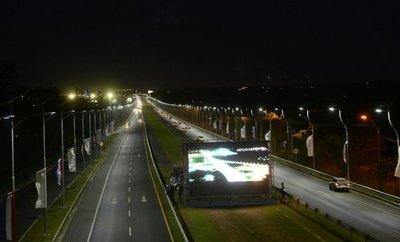 Energía solar iluminará autopista Ñu Guasú