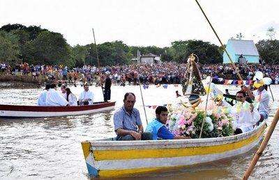 Este domingo comienza la novena de la Virgen del Paso