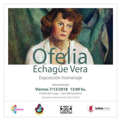 Obras de Ofelia Echagüe desde este viernes en San Bernardino