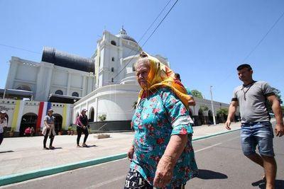 Fin de semana sin lluvias para visitar a la Virgen de Caacupé
