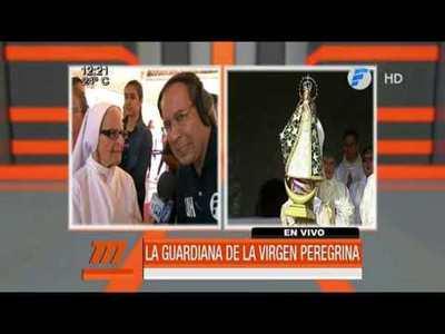 Virgen Peregrina llegó desde Coronel Oviedo a Caacupé