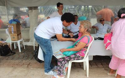 Salud Pública reporta 3 mil peregrinos asistidos