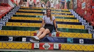 Amparo Veláquez Disfruta Sus Vacaciones En Brasil