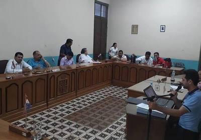 Concejales dan trato poco serio a ordenanza de presupuesto 2019