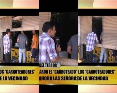 """Tenso momento en la cuadra de Carlos """"El Cubano"""""""