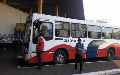 Dinatran reporta pocas denuncias contra empresas de ómnibus