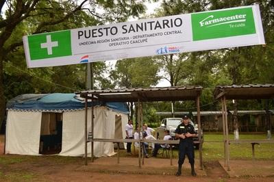 Caacupé: Más de 10.000 personas fueron atendidas en los puestos de salud