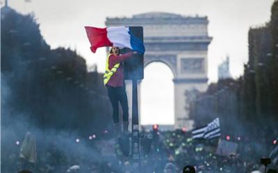 Tensión en París: 278 personas detenidas antes nuevas protestas