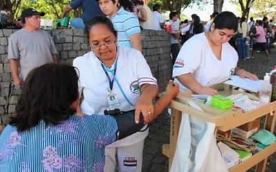 Salud Pública reportó más de 15 mil asistidos durante operativo Caacupé