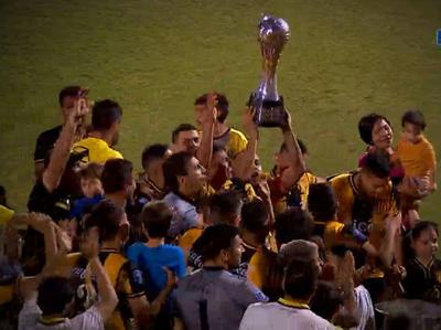 La Copa está en casa