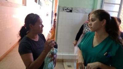 Indígena denunció que fue maltratada por funcionaria cuando pidió alimentos