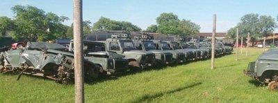 Costosos vehículos militares de la era de Lugo están ahora inservibles – Prensa 5