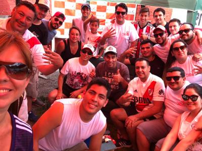 Nelson Cuevas y Celso Ayala felicitaron al campeón