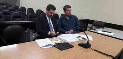 Por cuarta vez ex titular del Indert suspende su juicio