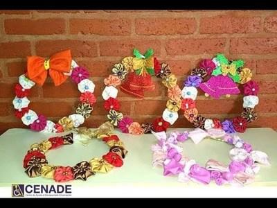 Niños del CENADE realizan y venden artículos navideños