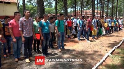 COMISOE RECIBE LLUVIA DE POSTULANTES AL SERVICIO MILITAR