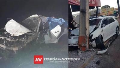 LUCTUOSO FIN DE SEMANA EN ITAPÚA POR ACCIDENTES.