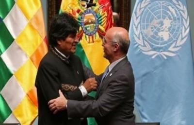 ONU ratifica legalidad derecho a la reelección en Bolivia