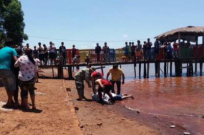 Hallan cuerpo de joven ahogado en Lago Acaray