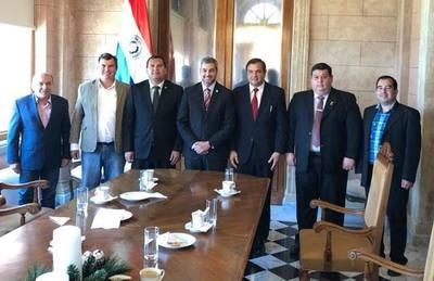 Mario Abdo prometió promulgación del Proyecto de Ley que beneficiará a cuatro municipios de Misiones