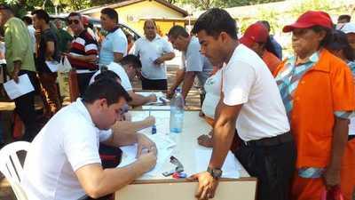 Realizan censo de funcionarios en la comuna esteña