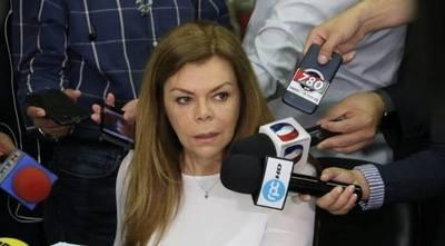 Confirman que Sandra de Zacarías deja administración llena de deudas