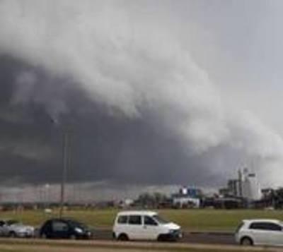 Anuncian tormentas significativas para el sur del país