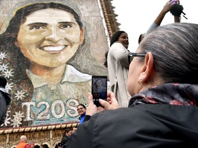 Quieren construir monumento de Chiquitunga en la Costanera Norte
