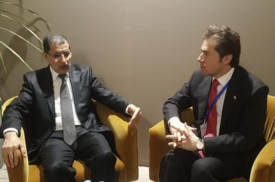 Castiglioni se reunió con el primer ministro y el canciller de Marruecos