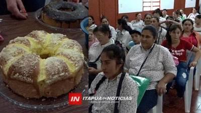 CLAUSURA DE CURSO DE COCINA Y CORTE-CONFECCIÓN EN LA PAZ.