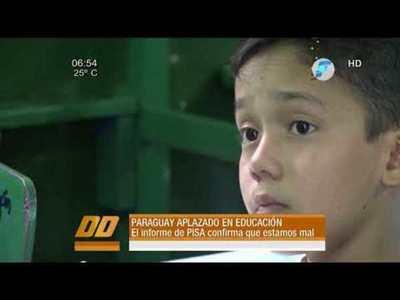 Paraguay aplazado en educación