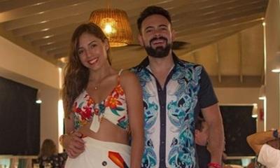 David Mussi y Silvia Romero disfrutan de su último día de Luna de Miel