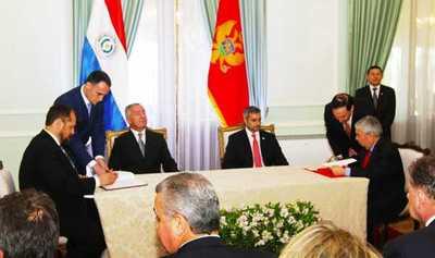 Paraguay y Montenegro acuerdan la supresión de visas y capacitación en materia diplomática