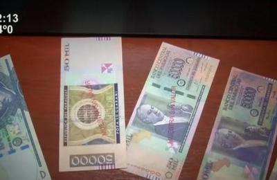 Alerta por circulación de billetes falsos