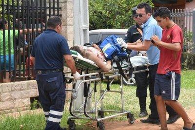 Violento desalojo en Roque Alonso