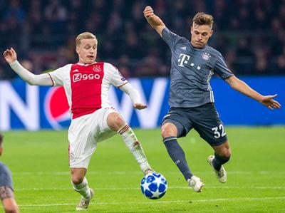 Bayern Múnich igualo ante el Ajax en un partidazo