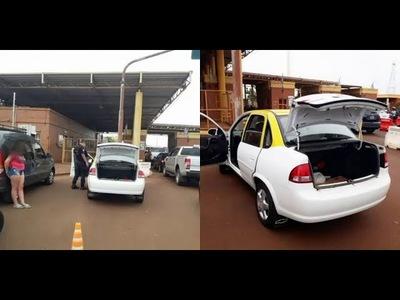 Adolescente pretendía ser traída a Encarnación dentro de la cajuela de un taxi