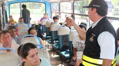 Dinatran libera horario de buses por octava de la Virgen de Caacupé