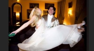 Nelson Haedo Y Martynka Cumplen10 Años De Casados