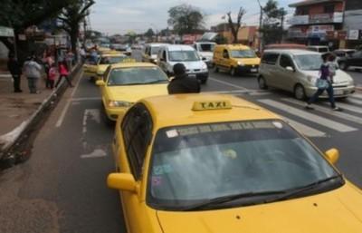 Taxistas de Fernando de la Mora se adhieren al